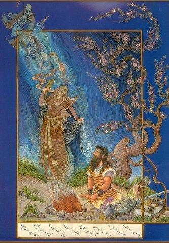رستم و زن جادو